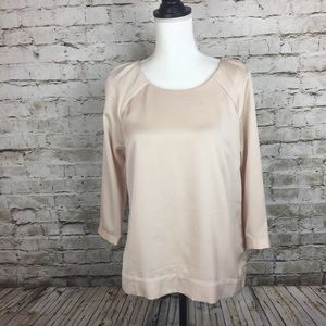The Limited blouse in ballet pink